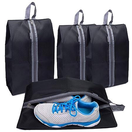 63af2024045a Alezywels Ultimate Shoe Storage Organizer Bags Set