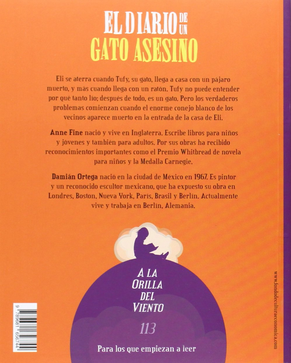 El diario de un gato asesino (Spanish Edition): Fine Anne: 9789681656744: Amazon.com: Books