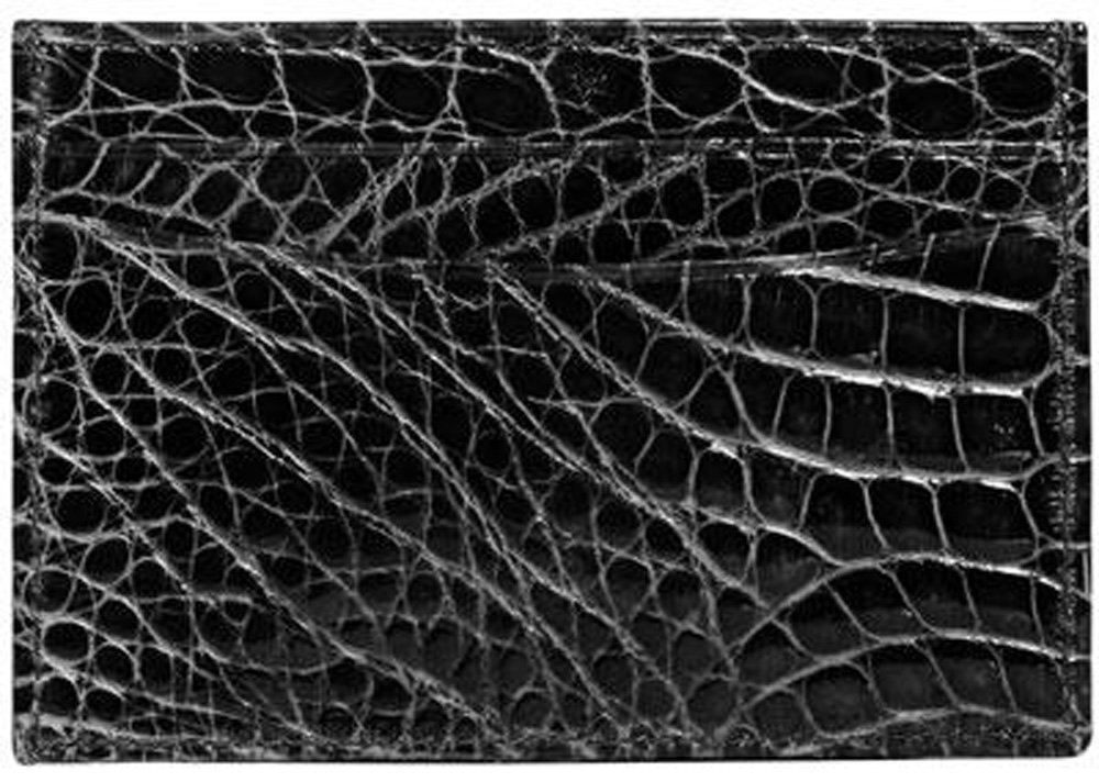 Trafalgar Men's Alligator Slim Card Holder