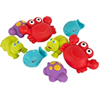 Playgro Fully Sealed Floating Sea Friends, Multi,