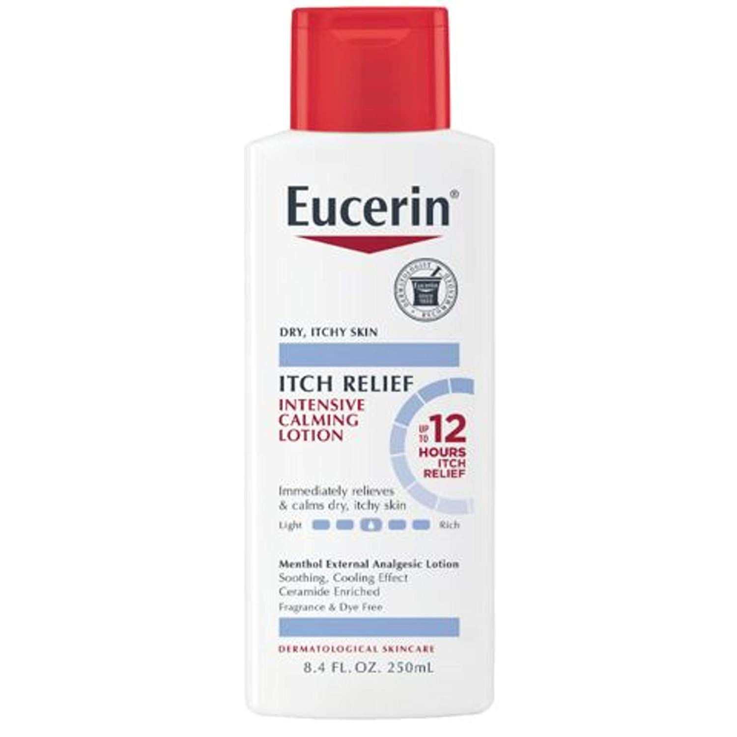 Eucerin Skin Calming Intensive Itch Relief Lotion, Body Lotion for Dry Itchy Skin - 8.4 Fl. Oz, 8.4 Fl Oz