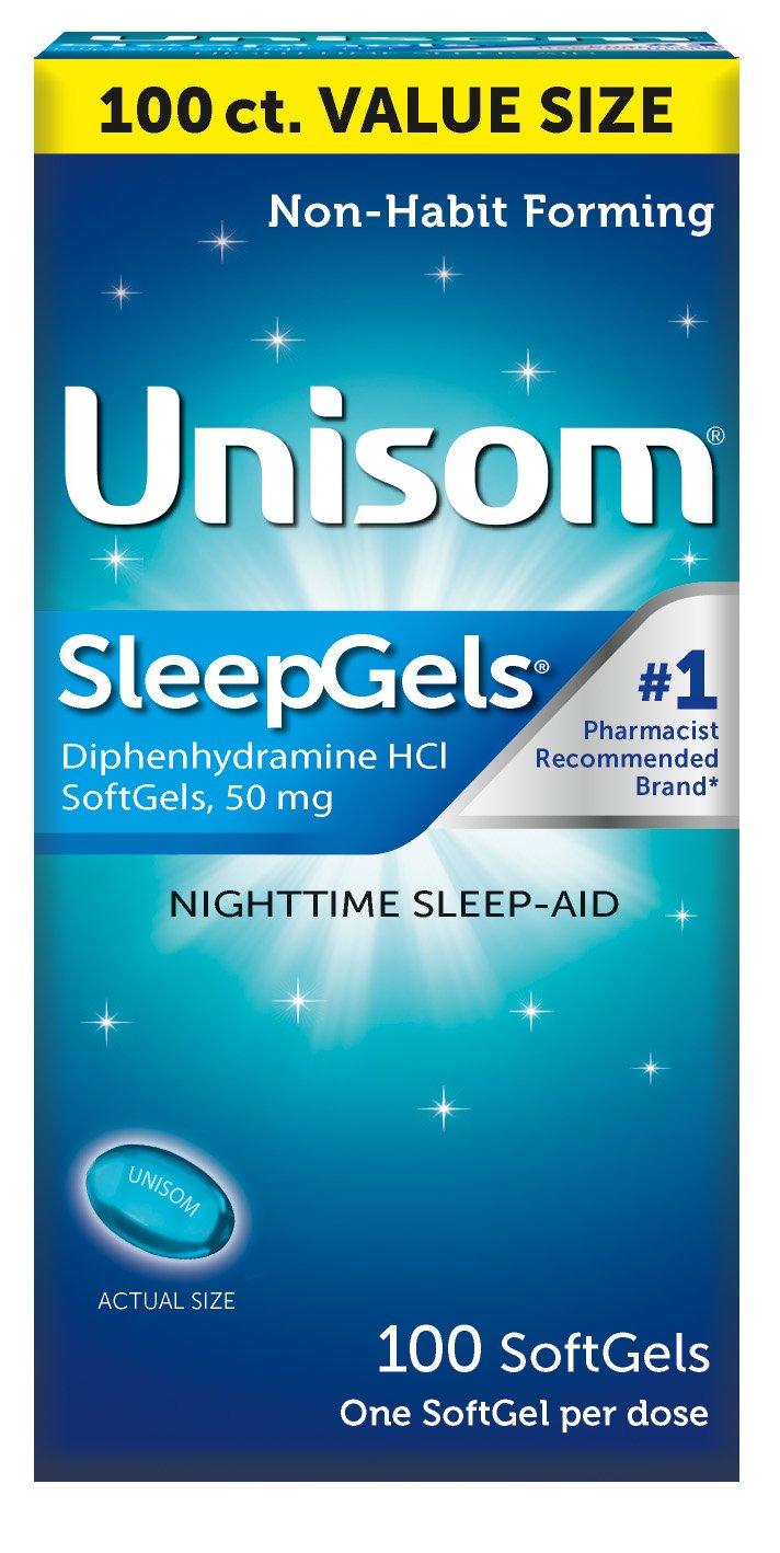 Unisom SleepGels 100 Count Value Pack (Pack of 2) by Unisom