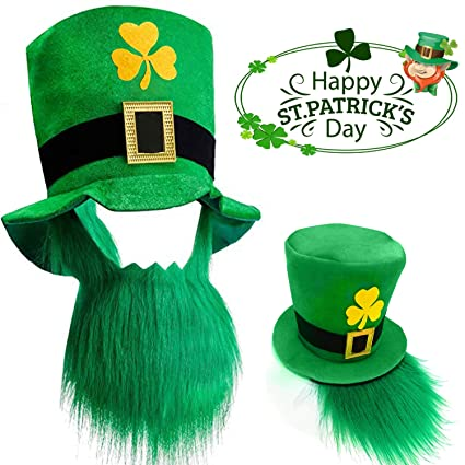80571abfd Amazon.com: St. Patricks Party Hat, St. Patricks Day Costume Green ...
