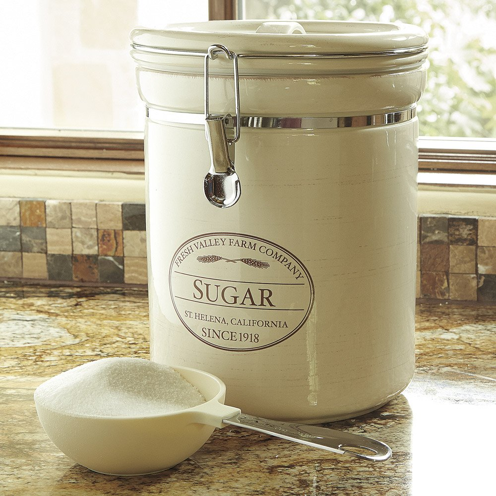 CHEFS Fresh Valley Farm Canisters: sugar by CHEFS