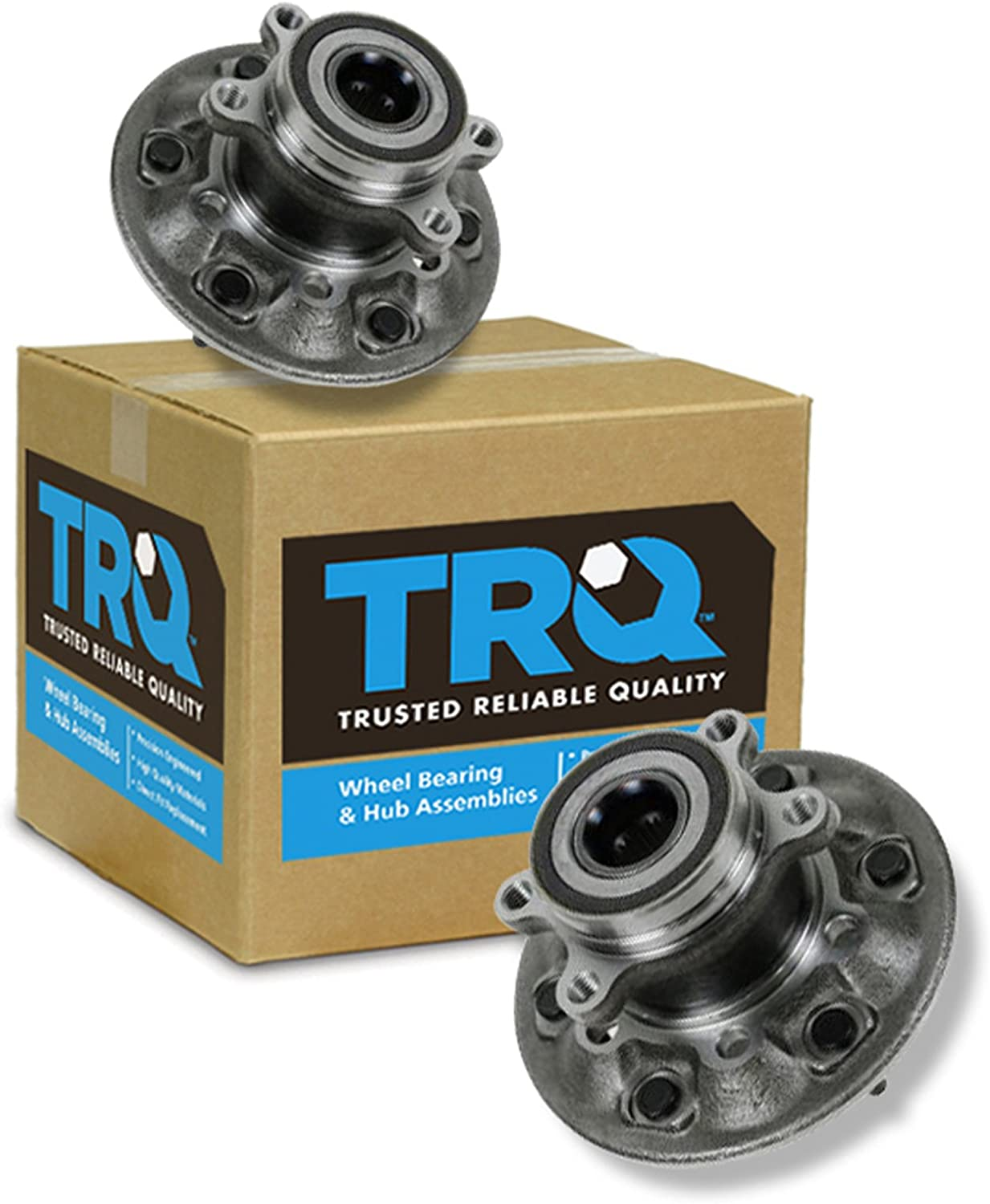 Front Left Wheel Bearing and Hub Assembly for 2008 GMC Canyon With Two Years Warranty Package Includes One Bearing