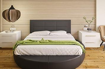 Hogar24 Es Cabecero tapizado, válido para Cama 135 y 150 cm, Negro, 155x55x3: Amazon.es: Hogar