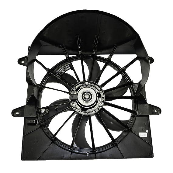 Amazon Com Radiator Cooling Fan Wshroud 5143208aa For Jeep