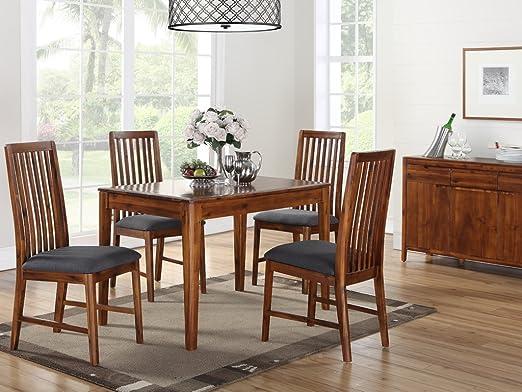 The One Dunham Acacia - Juego de Mesa de Comedor y 4 sillas de ...