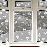 Articlings 56 Original Snowflake Window Clings Fabulous Static PVC Stickers