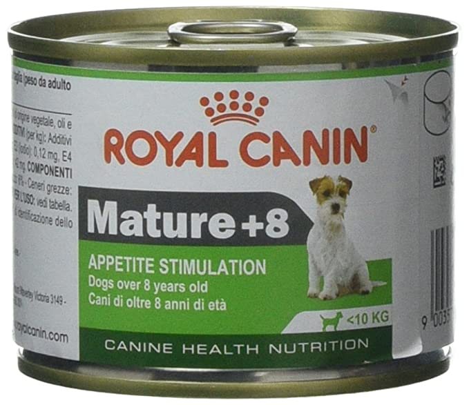 Amazon.com: Royal Canin Mature + 8 Wet Dog Food 6.88 oz ...