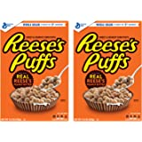 Reese's Peanut Butter Puffs, Breakfast Cereal, 11.5 Ounce (2 Pack (11.5 Ounce))
