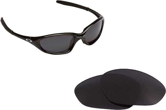 Best SEEK OPTICS Replacement Lenses Oakley TWENTY XX (Old) - Black Iridium