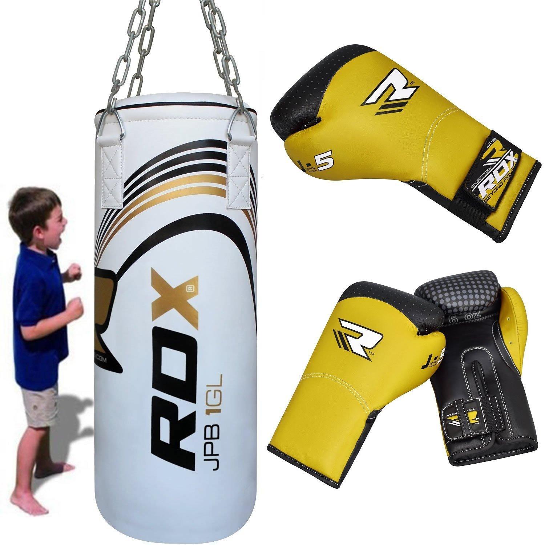 Ungef/üllt Boxsack 1# 1,2M Gef/üllte Wandhalterung Boxtraining MMA Schwere Boxhandschuhe Kette Muay Thai Kickboxen