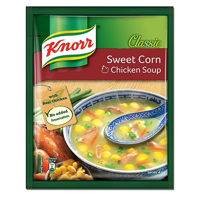 Knorr Chinese Sweet Corn Chicken Soup 42g Amazon Grocery