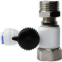 iSpring afw43adaptador de conversión incluido, Se adapta tanto 1/5,1cm NPT & 3/20,3cm Comp suministro de agua fría de la válvula