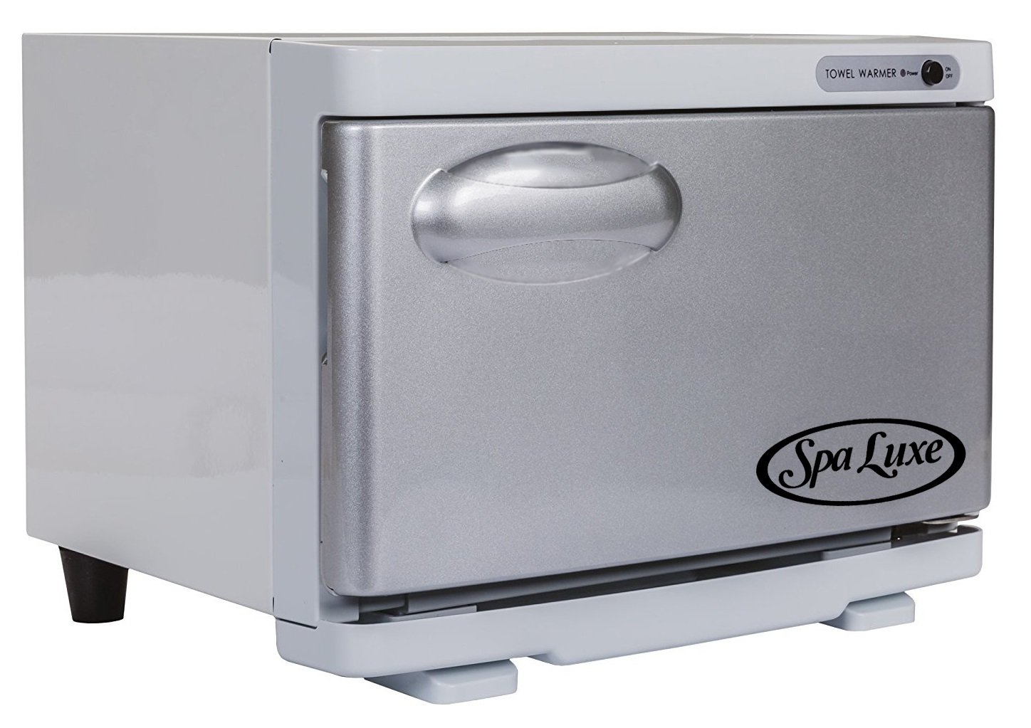 Spa Luxe SL8UVF - Mini Hot Towel Warmer Cabinet with UV (UL approved) (Silver/White)
