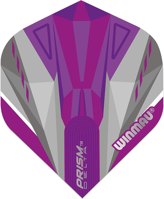 1 or 3 Sets Winmau Prism Alpha Standard Shape Dart Flights Choose Colour
