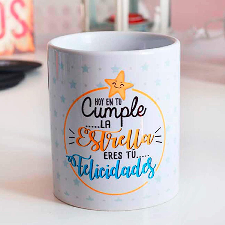 Taza cumpleaños Estrella: Amazon.es: Handmade