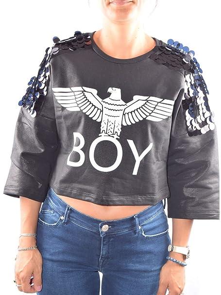 Boy London - Sudadera - para Mujer Negro Small: Amazon.es: Ropa y accesorios