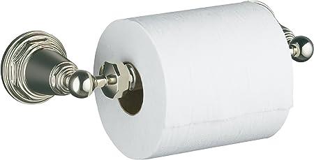 KOHLER K-16265-SN Margaux Horizontal Toilet Tissue Holder Vibrant Polished Nickel