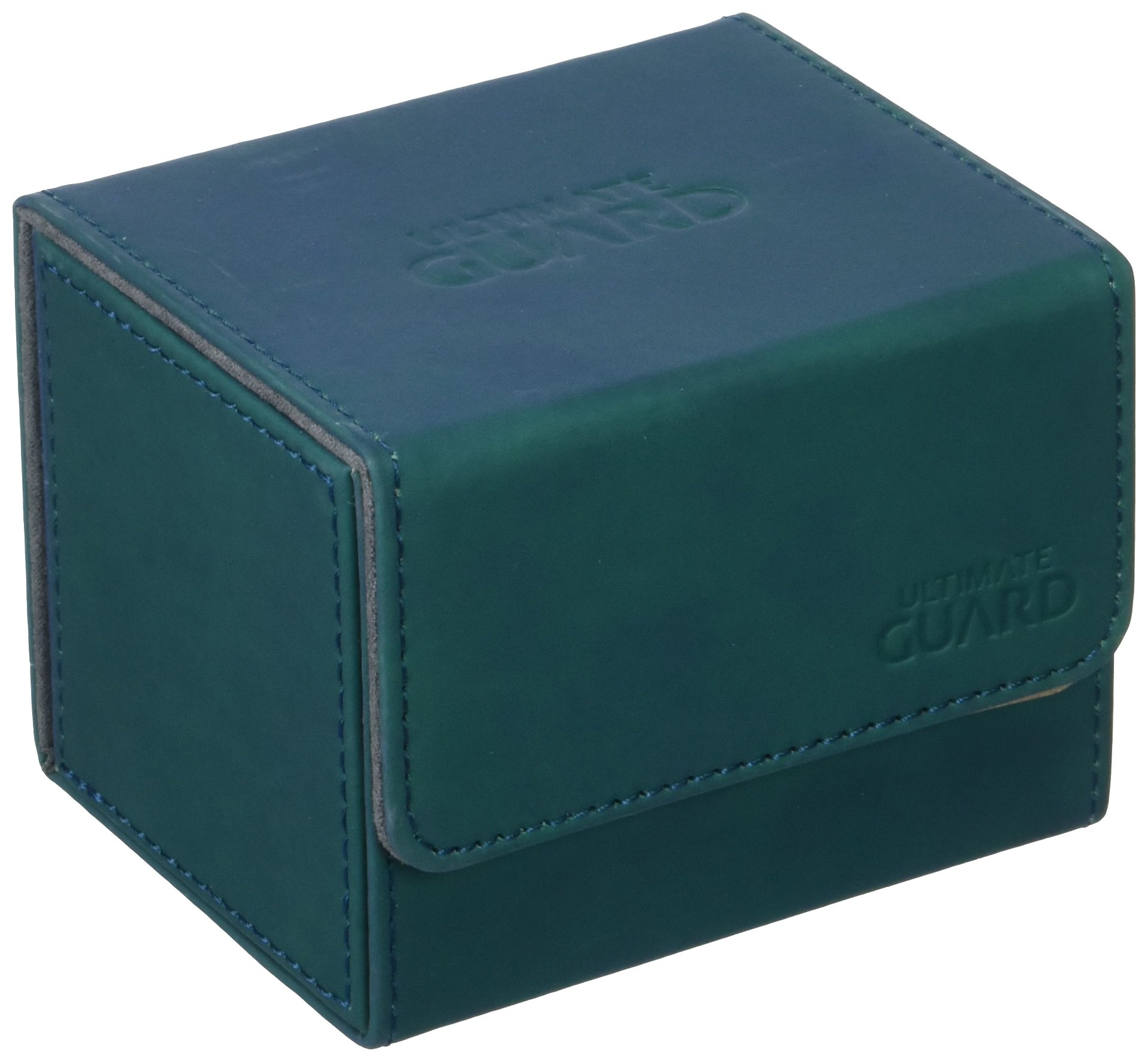 Ultimate Guard Deck Box: Sidewinder 100+ ChromiaSkin Petrol Blue by Ultimate Guard