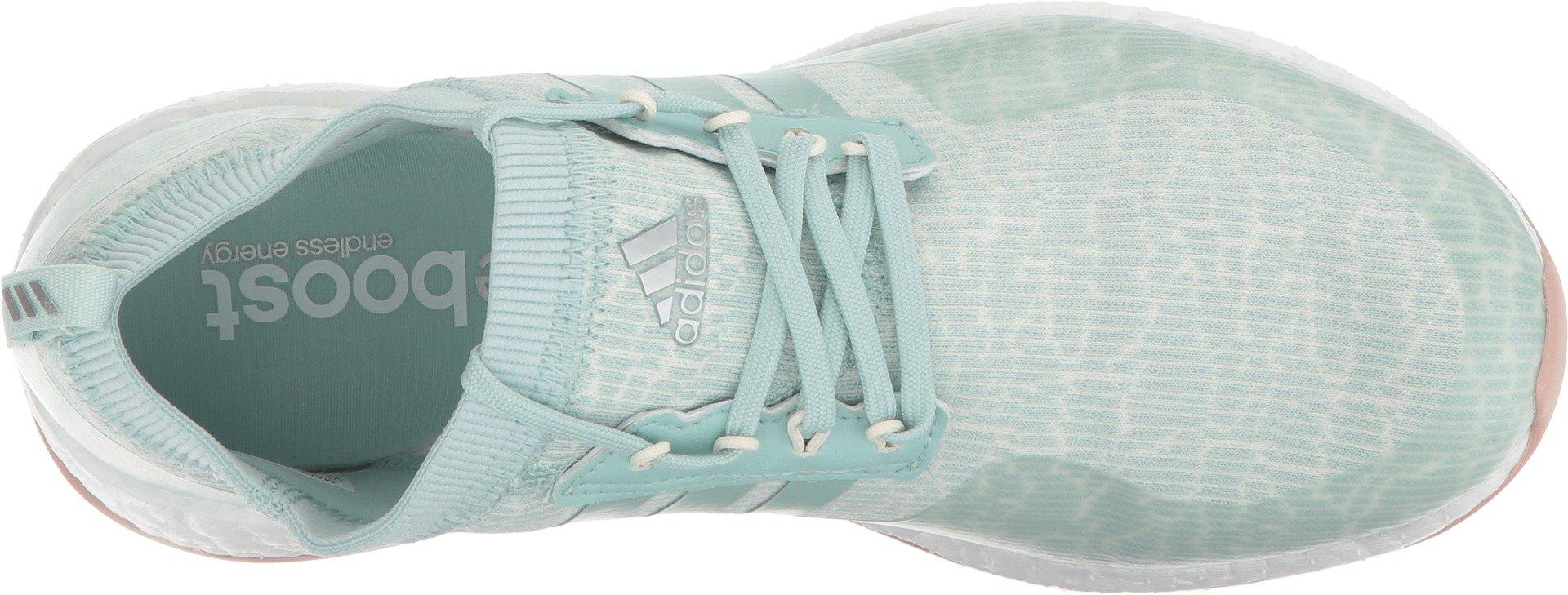 adidas Women's W Pure Boost Xg Golf Shoe, Ash Green/White Tint/Ash Pearl, 7 Medium US by adidas (Image #2)