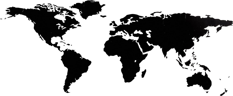 Bilderdepot24 Tatuaje de Pared Pegatinas de Pared - Mapa del Mundo ...