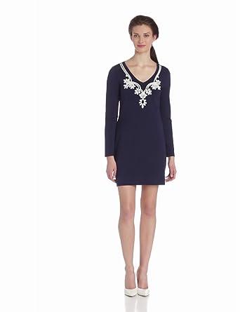 Lilly Pulitzer Women's Daylin Dress, True Navy, X-Small