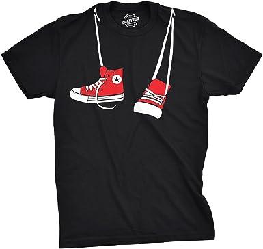 Men/'s Black Keys Heart chasing Dog T-shirt Burgundy