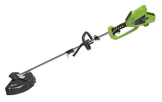 Greenworks 1301507 Desbrozadora Inalámbrica, 40 V, Verde, 35 cm, solo herramienta (sin batería/cargador)
