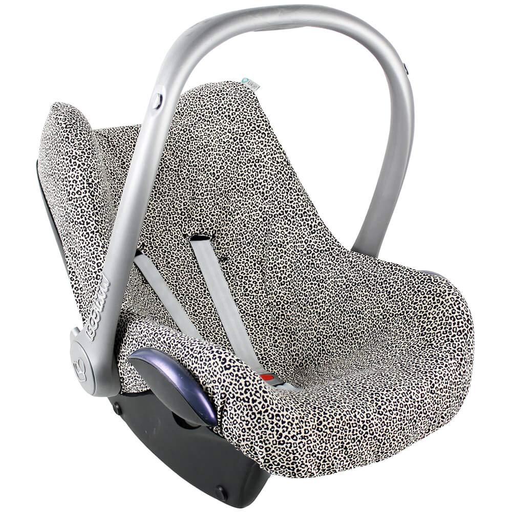 Maxi Cosi Bezug Pebble Plus Pro Cabriofix Sps Citi Rock Von Ukje Sand Leopardenmuster Recycelbar Und Umweltfreundlich Öko Tex 100 Baumwolle Schweißabsorbierend Und Weich Baby