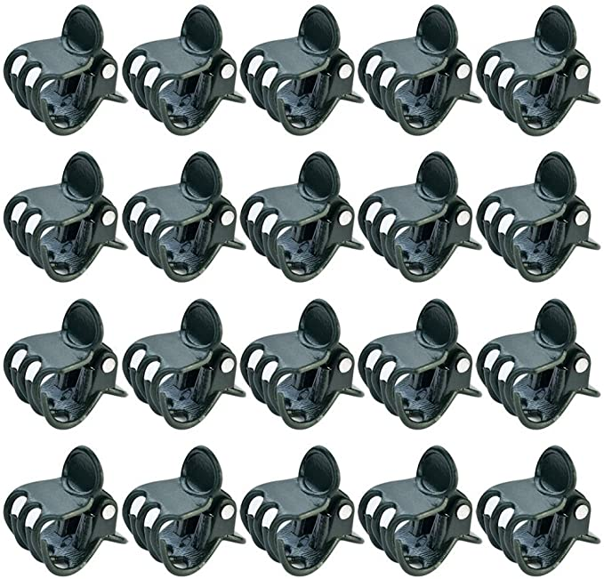OUNONA 100PCS Plant Support Clips Vine Vegetable Flowers Buckle for Orchard
