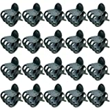 baotongle 100 pcs Plant Clips, Orchid Clips Plant Orchid Support Clips Flower and Vine Clips for Supporting Stems Vines Grow