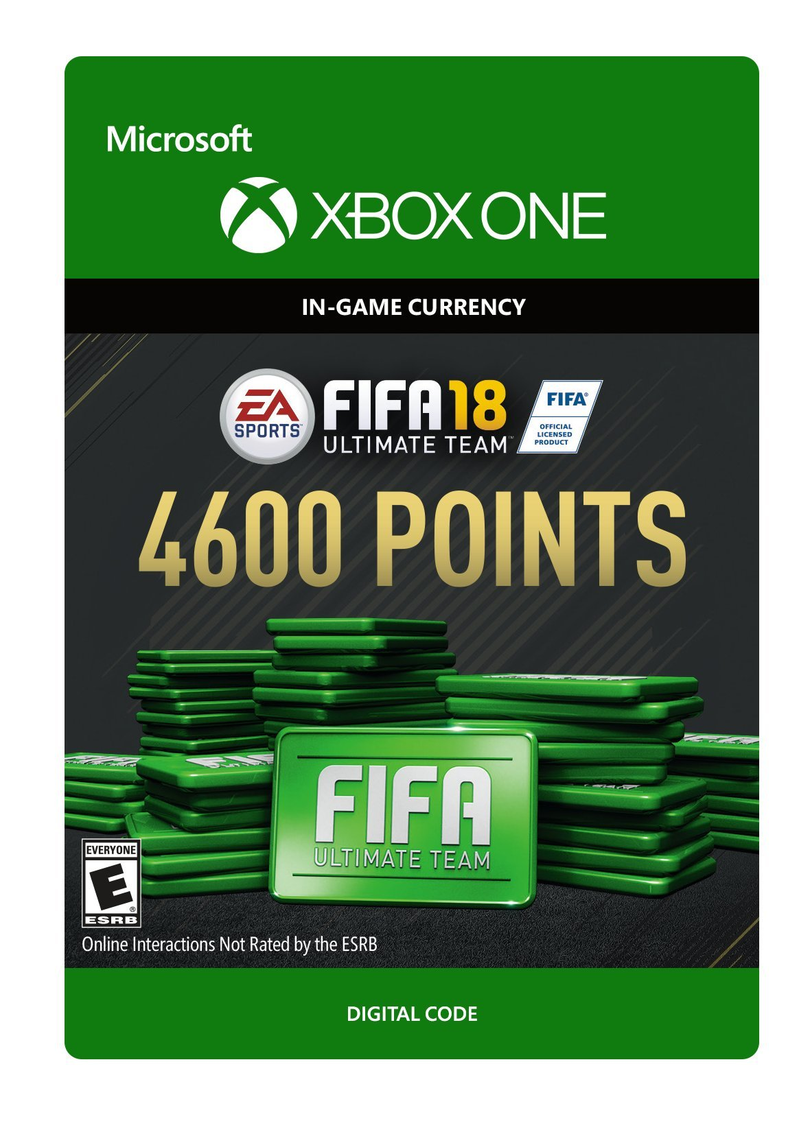 FIFA 18: Ultimate Team FIFA Points 4600 - Xbox One [Digital Code] by Electronic Arts (Image #1)