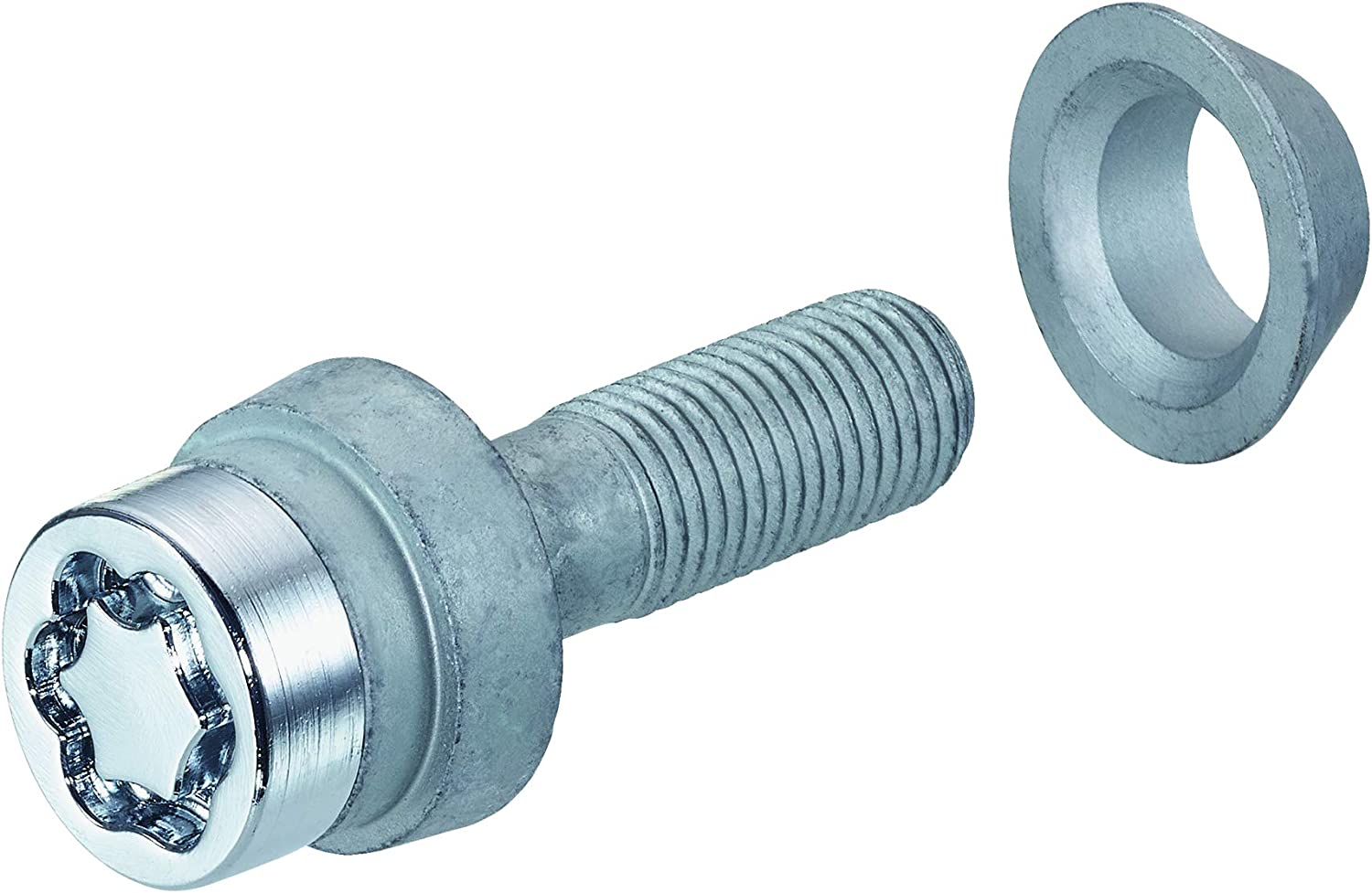 Hex Size 17mm McGard 27562SU Wheel Lock Bolts PCD//Offset Screws M12 x 1,25 Shaft Length 28,0 mm Overall Length 58,2 mm Floating Cone seat Key Diameter 25,8 mm