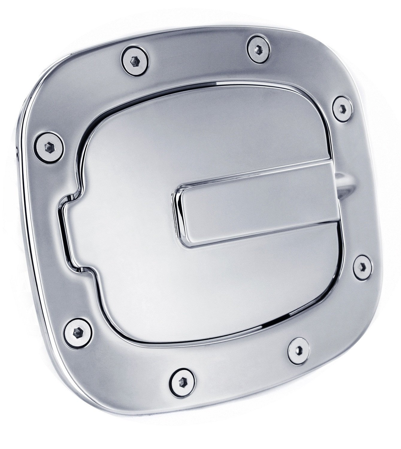 All Sales 6071K Billet Fuel Door