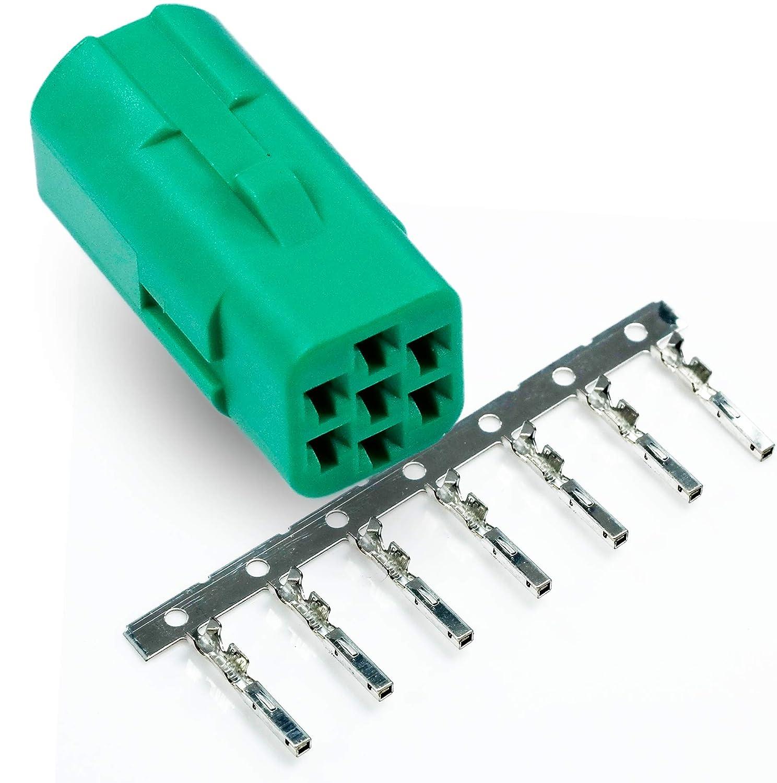 amp/tyco harley tbw 7 pin oem multi-lock  070 mini green male connector:  amazon co uk: welcome