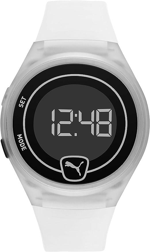 Puma Faster - Reloj deportivo digital con pantalla LCD