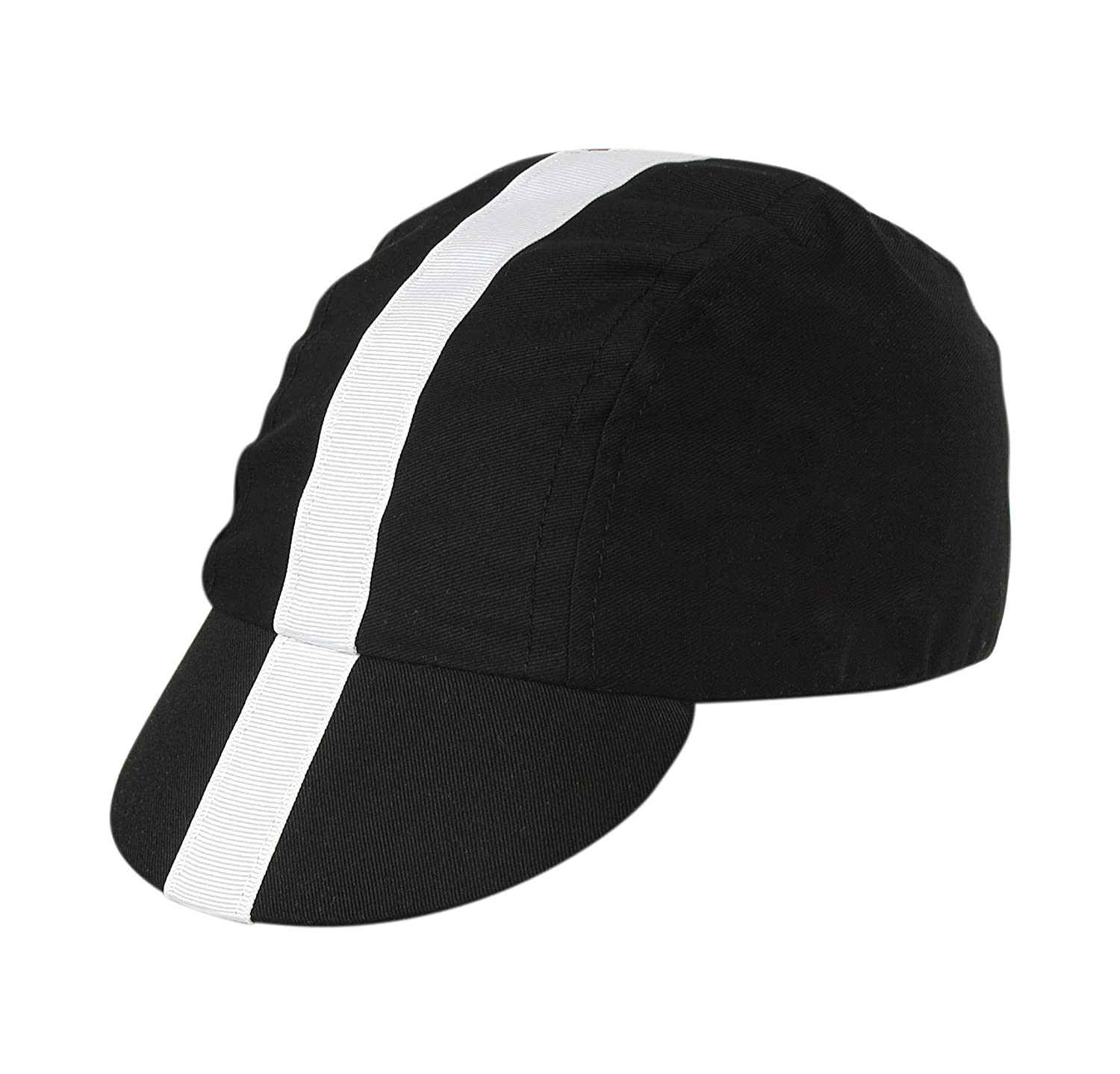 Amazon.com   Pace Classic Cycling Cap (Black with Red)   Cycling Hat    Clothing 52cc31e8f