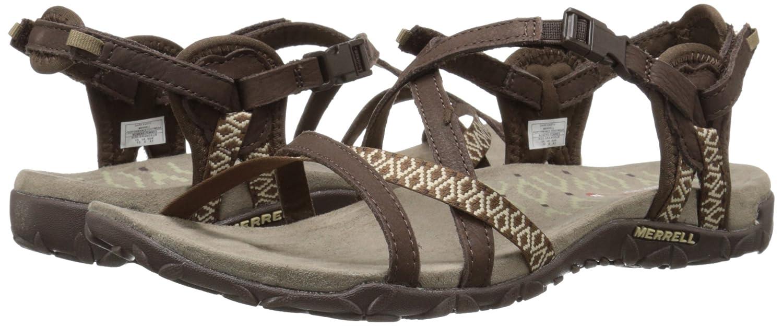 Merrell Womens Terran Lattice Ii Heel Sandals