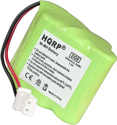 HQRP Transmitter Battery Compatible with Dt-Systems DT Good Dog ST 100 Pro, ST 102 Pro, ST 200 Pro, ST 202 Pro, ST 300 Pro, ST 302 Pro Training Collar Transmitter Coaster