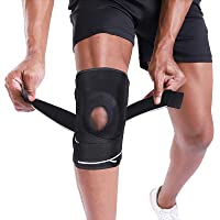 BERTER Knee Brace Support for Relieves Meniscus Tear Knee Pain ACL MCL Arthritis, Men Women Open Patella Knee Pad for…