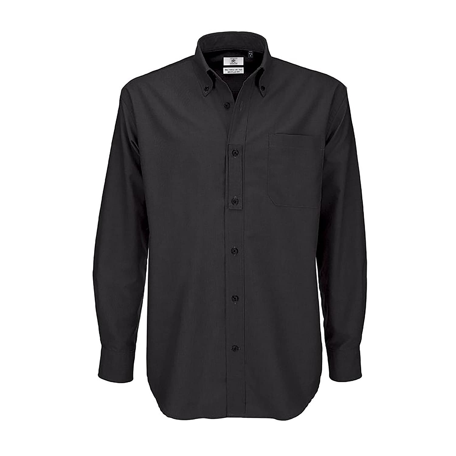 B&C Mens Oxford Long Sleeve Shirt / Mens Shirts