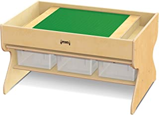 product image for Jonti-Craft 5726JC Deluxe Building Table, Traditional Brick Compatible