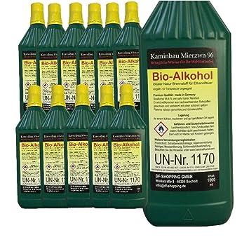 Bioetanol Bio Alcohol Elige de entre 5, 12, 24 litros. Por Chimenea etanol