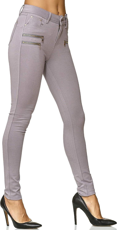 Elara Women Stretch Pants Skinny Fit Jegging Chunkyrayan