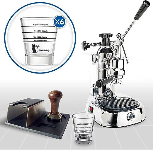 LaGondola Bundle – Máquina Caffe Espresso cromado la Pavoni ...