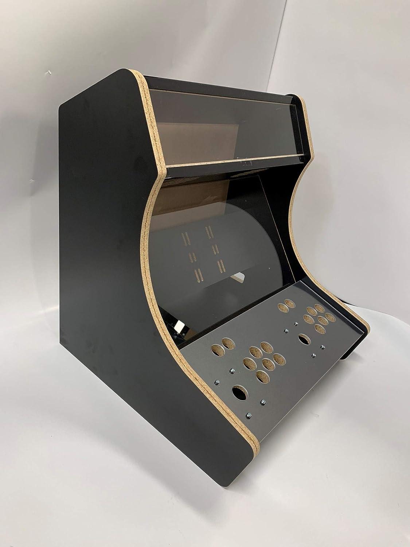 Micro Center Raspberry Pi (not Included) Retro Arcade 2-Player Bartop  Cabinet - Unassembled