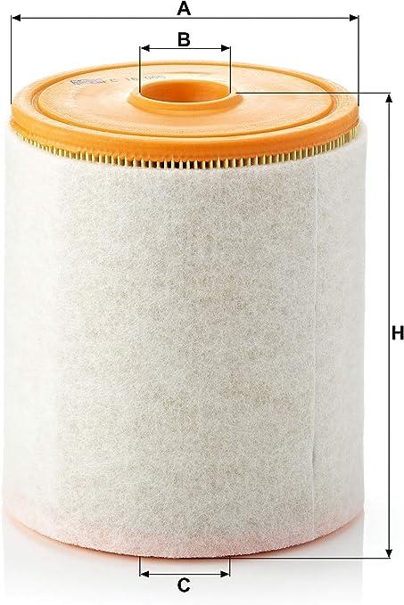 Original Mann Filter Luftfilter C 16 005 Für Pkw Auto