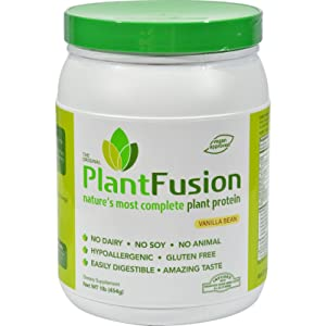 2Pack! PlantFusion Multi Source Plant Protein Vanilla Bean - 1 lb